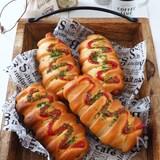 捏ね発酵なし‼️ 簡単!ソーセージパン