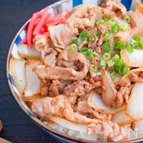 ご飯に合う◎豚ばら薄切り肉の味噌漬け焼き