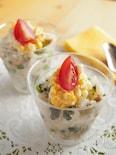 小松菜とツナのカップ寿司