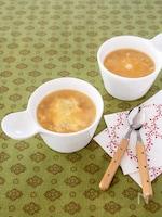 時短オニオングラタン風スープ