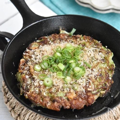 オイルキャベツとさばの水煮缶のチーズ焼き【アレンジ】