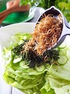 【やみつきレタス】カリカリじゃこのボリュームレタスサラダ