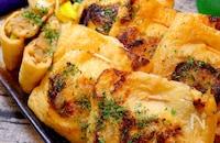 【かぶりつけるダイエットレシピ!】えのきとネギの味噌包み焼き