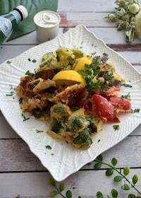 『炭酸水でカリッとイタリアンな天ぷら!夏野菜のフリット』