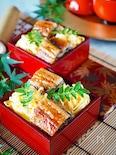 【市販の鰻使い方のコツ】*鰻と玉子のモザイクちらし寿司*