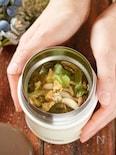 キャベツとツナのかき玉スープ【#包丁不要#スープジャー】