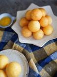 韓国おやつの定番!薄皮でサックリとろ〜り「チーズボール」