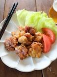 レンジで作れるジューシー鶏の唐揚げ