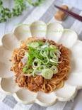 簡単ランチに☆肉味噌麺