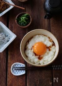 『ふわふわ卵かけご飯。』