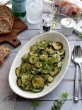 シンプルに味わう!ズッキーニのトリフォラーティ