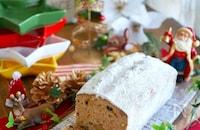 クリスマスじゃ無い日も食べたい!シュトレン風パウンドケーキ