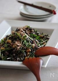 『ひじきとお豆の8品目サラダ。』