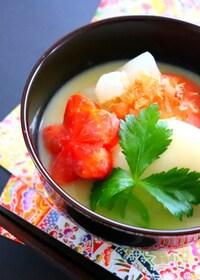 『【正月料理】白みそで作る京都風お雑煮』