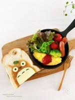 【簡単】かわいい♡子どもが喜ぶ♪キャラトースト