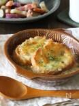 レンチンで時短にほっこり美味しい♪白菜グラタンスープ