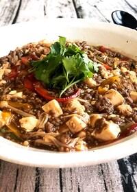 『フライパン1つで♪加えていくだけ簡単♡『タイ風麻婆豆腐』』