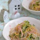 給食風春雨の中華風サラダ【作り置き】