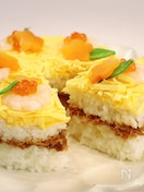 <ひな祭り>春のお祝いに♡ギュギュ♪と詰めるだけ!ケーキ寿司