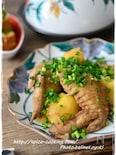 【圧力鍋】鶏手羽先とじゃがいものさっぱり煮