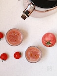トマトとセロリのガスパチョ風