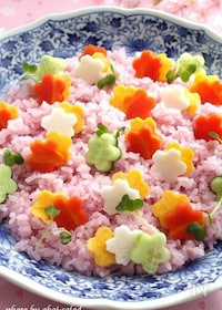 『花野菜の散らし寿司』