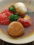 かぶとトマトの丸ごと煮