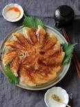 大葉鶏餃子。