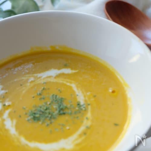 夏バテ知らず‼️かぼちゃと豆腐のクリーミースープ‼️