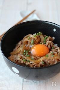 【らくレピ】10分で完成!スタミナ豚丼