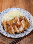 生姜たっぷりの鶏の照り焼き