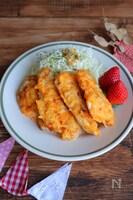 【定番】白身魚のガーリックチーズピカタ