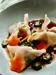 七夕に‼️お豆腐とおから入りのシャキシャキ水餃子‼️