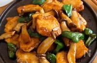 ご飯がススム!『むね肉とピーマンとエリンギのボリューム青椒』