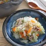 白菜たっぷり♪豚肉入りおかずスープ!優しい味付けでこどもにも