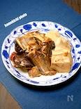 カレイと豆腐の煮付け