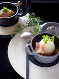 レンジで簡単!新たまねぎの丸ごとスープ