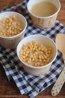キャラメル味になる⁉︎手作り醤油アイス
