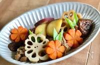 【旬の野菜で♪】筑前煮風