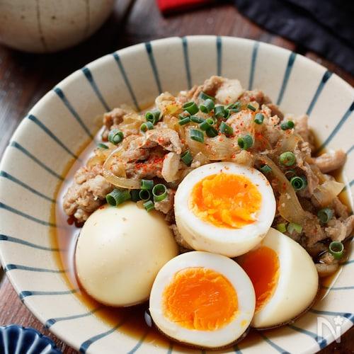 豚こまと玉ねぎの甘辛煮【#作り置き#煮るだけ#丼にしても】