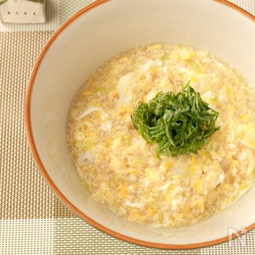 〈くらし薬膳〉玉子と鶏の葛あんかけご飯