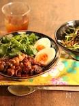 豚ばら肉の味噌焼き丼【魯肉飯風】