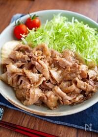 『【豚バラのしょうが焼き】定番の味♬︎シンプルが美味しい♡』