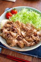 【豚バラのしょうが焼き】定番の味♬︎シンプルが美味しい♡