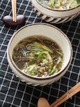 【和えるだけ・3分】中華風「きゅうりとミョウガのもずく酢」