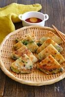 健やかごま油で!葱油餅(ツォンヨゥピン)