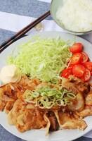 【一番美味しい豚の生姜焼き】塩麹&麺つゆで男が喜ぶ人気おかず