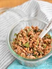 鮭と大葉の甘辛フレーク【作り置き】