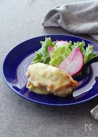 『チキンソテーの白味噌わさびチーズ』