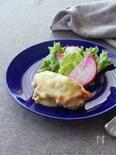 チキンソテーの白味噌わさびチーズ